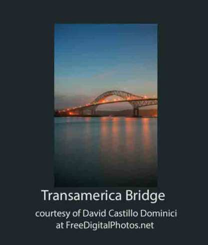 Transamerica Bridge, Panama City, Panama