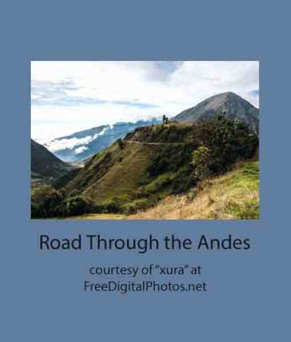 Road Through the Andes