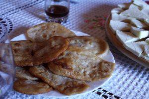 Croatian ustipak fried dough