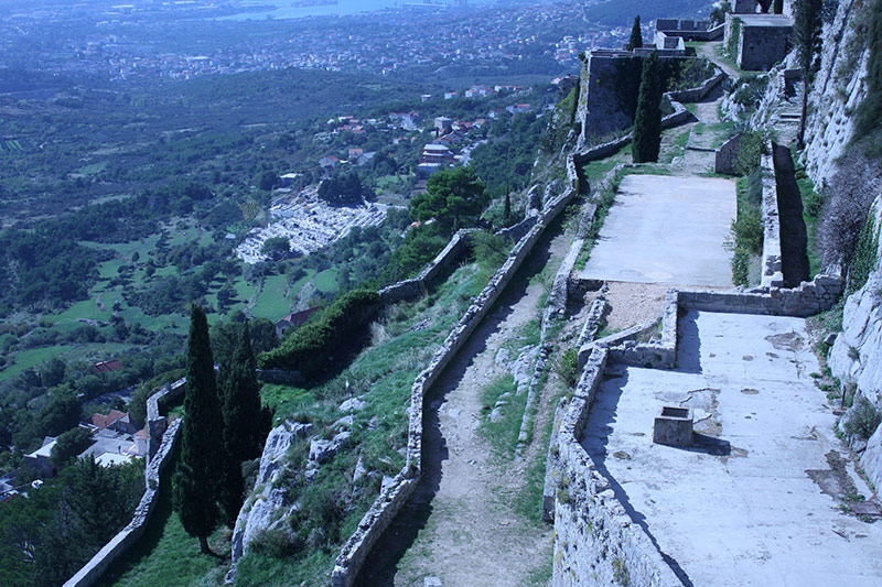 Klis Fortress near Split, Croatia