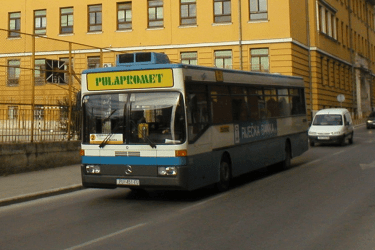 Public Transport in Pula