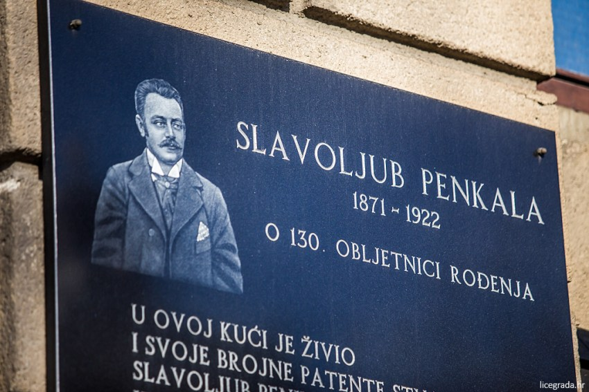 Slavoljub Penkala's resting place in Mirogoj cemetery in Zagreb