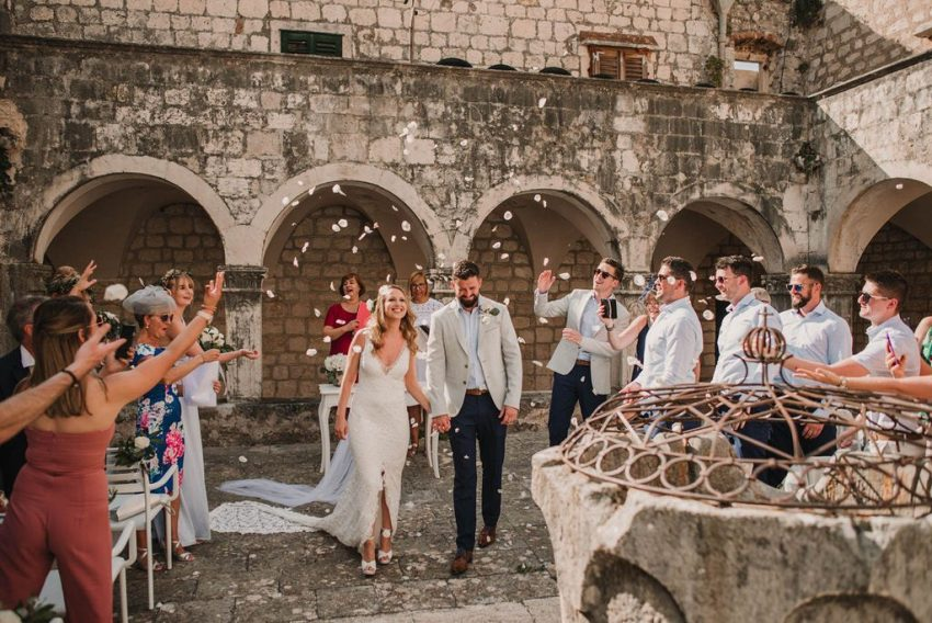 Croatian wedding ceremony