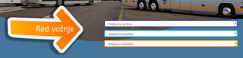 Bus schedules for Sibenik