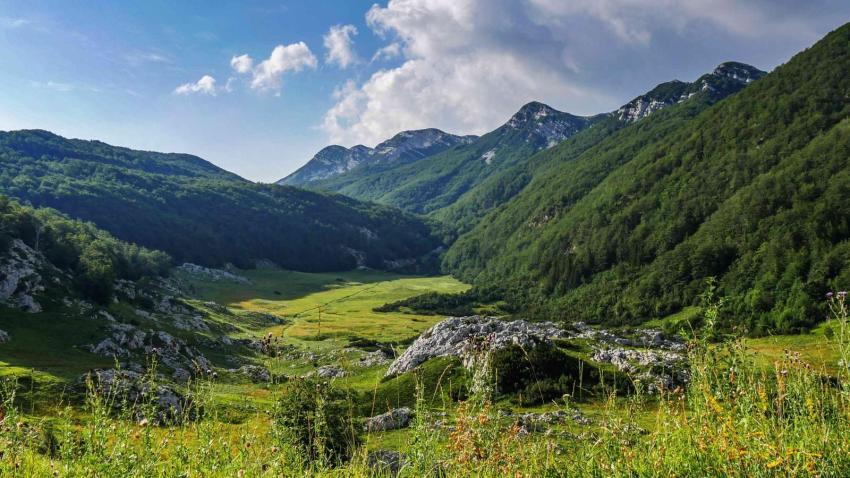 Sveto Brodo on Via Dinarica White Trail