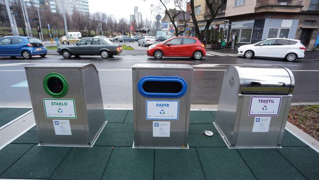 Where to recycle glass in Croatia