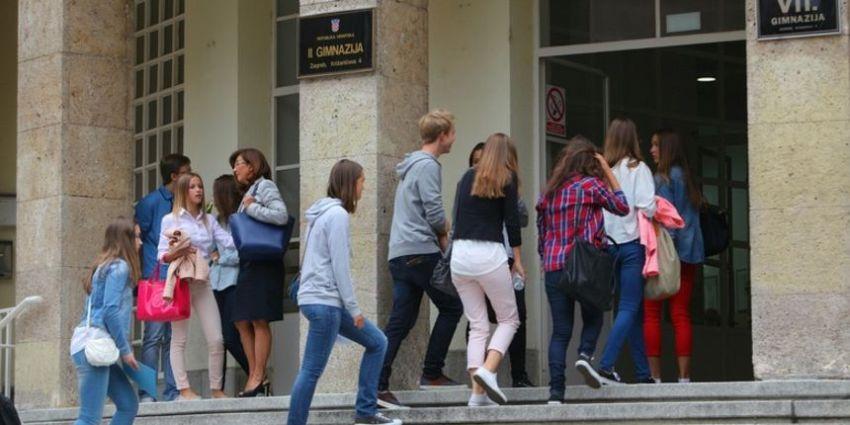 High school in Croatia