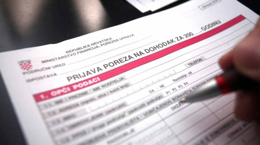 Croatia income tax return