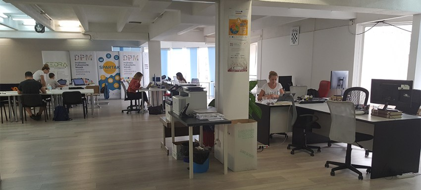 Amosfera Coworking space for digital nomads in Split, Croatia