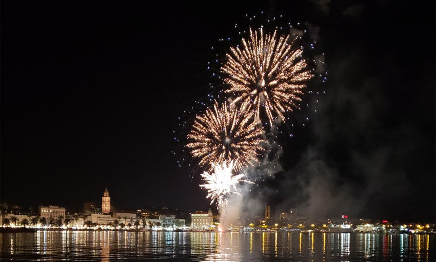 New Year's Eve in Split, Croatia