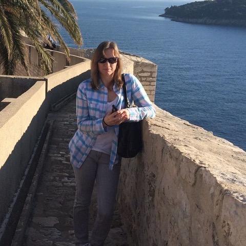 Kathy Steward - expat living in Dubrovnik