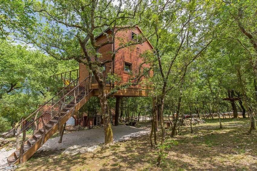 Treehouse at Cadmos Village in Komaji, Croatia