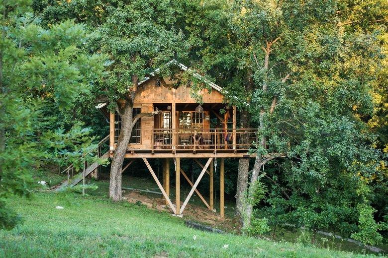Treehouse Resnice in Barilović, Croatia