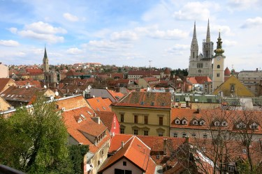 Residential property prices in Croatia's biggest cities (in 2021)