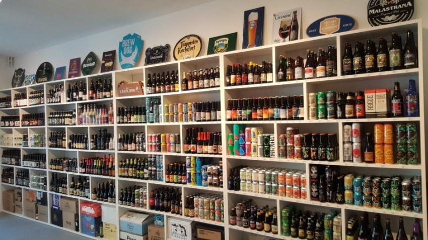 Goblet Beer Store in Zagreb