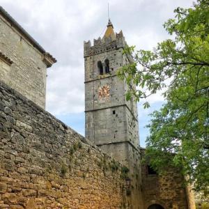 Bell tower in Hum, Istria, Croatia