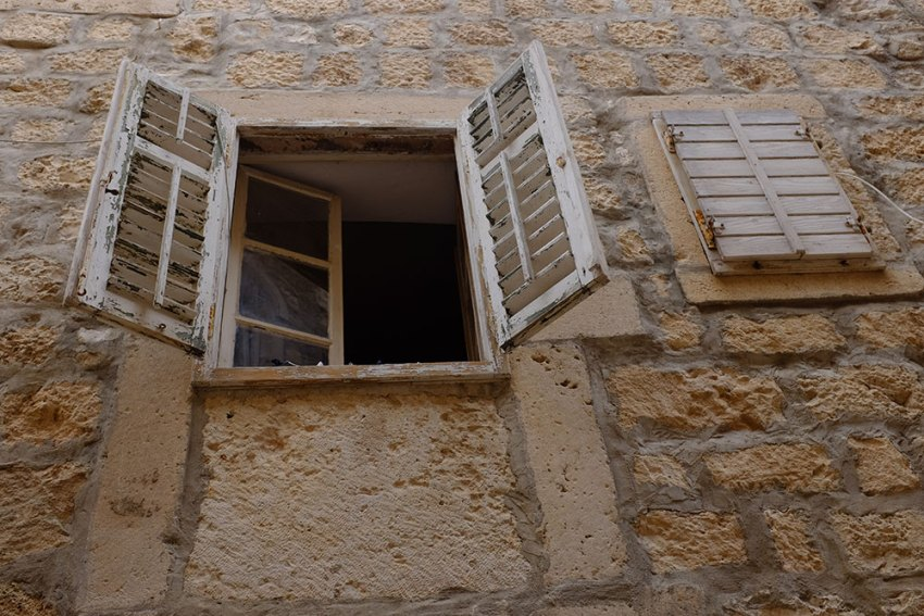 Shutter in Istria, Croatia