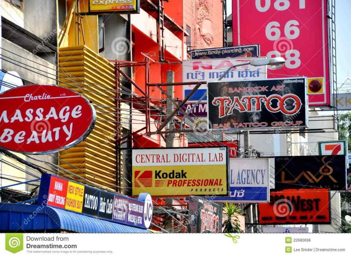 bangkok-thailand-khao-san-road-signs-22680696