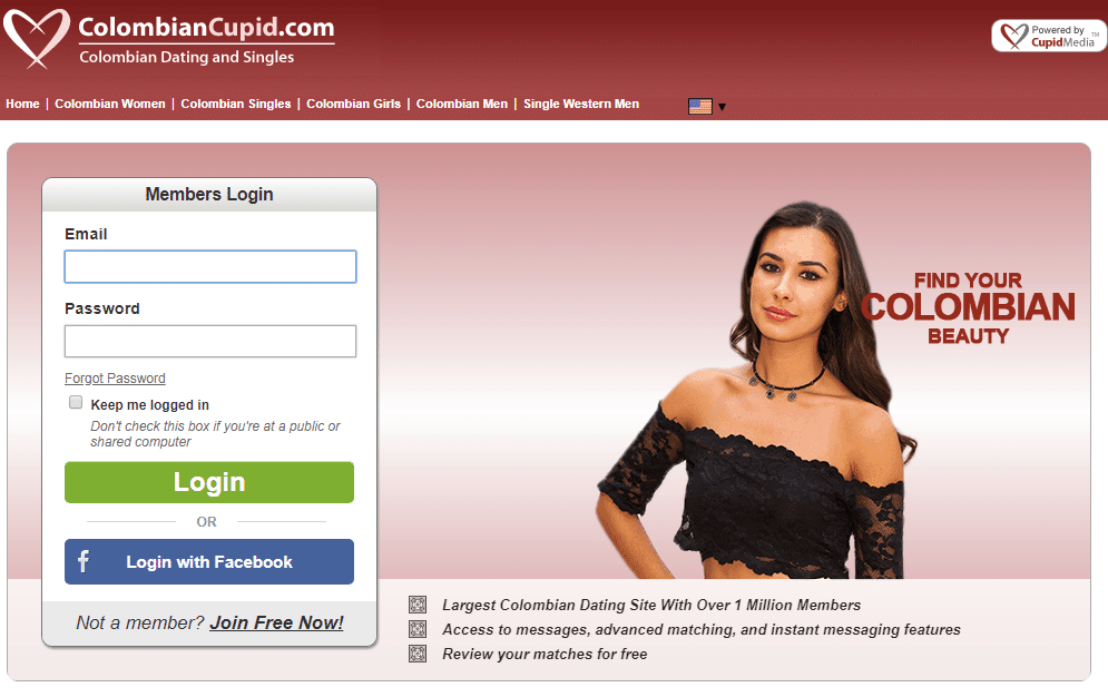 Colombia dating websites