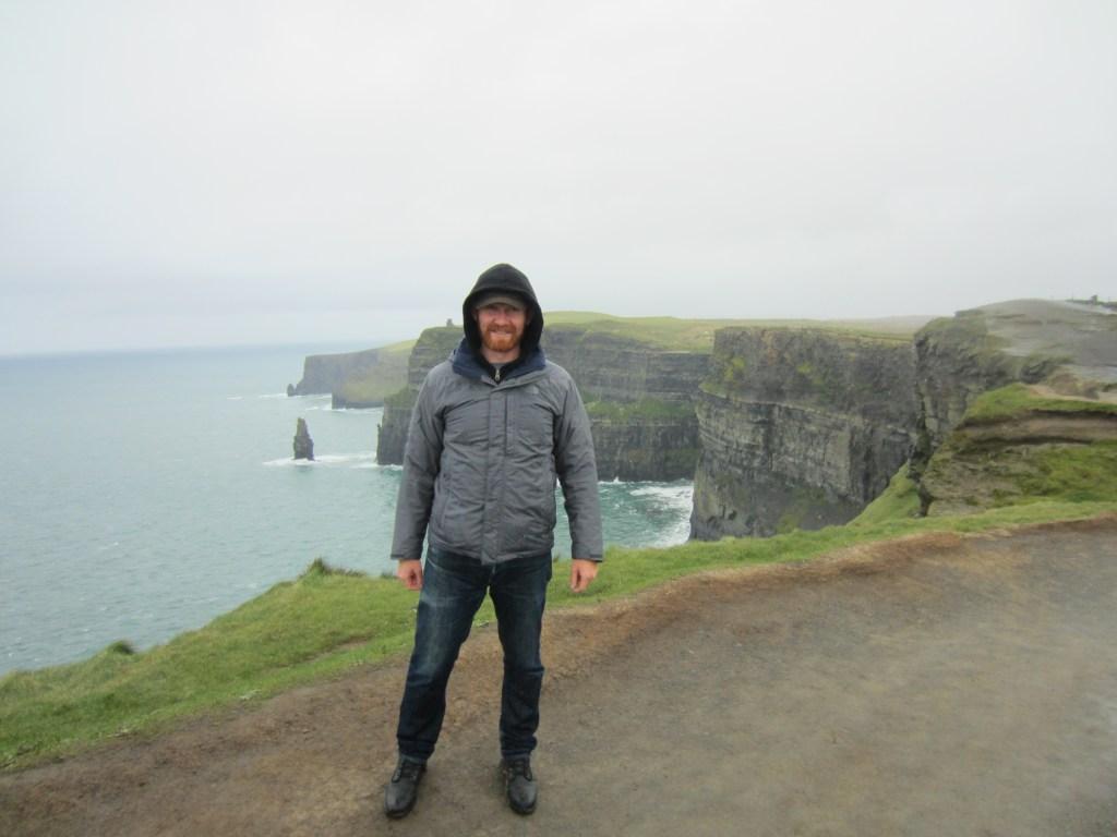 daniel welsch at cliffs of moher