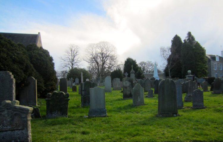 cemetery edinburgh -- adventures in the UK