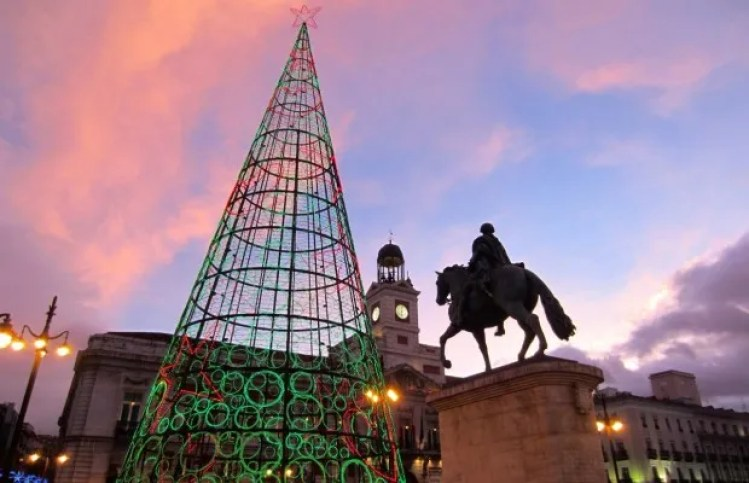 holidays in Madrid puerta del sol