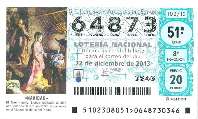 spanish christmas lottery