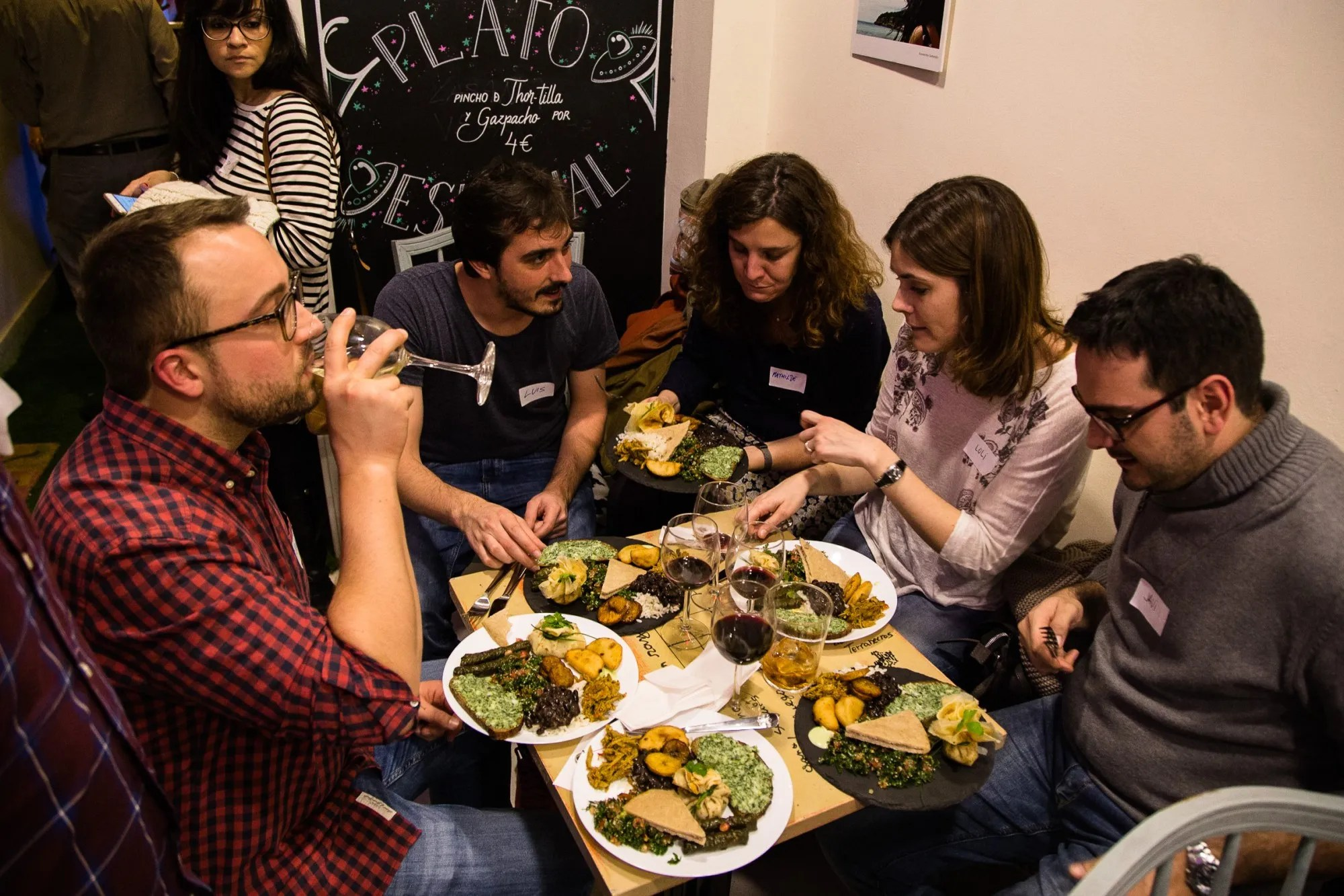 help refugees in madrid - chefugee mundial pop up dinner