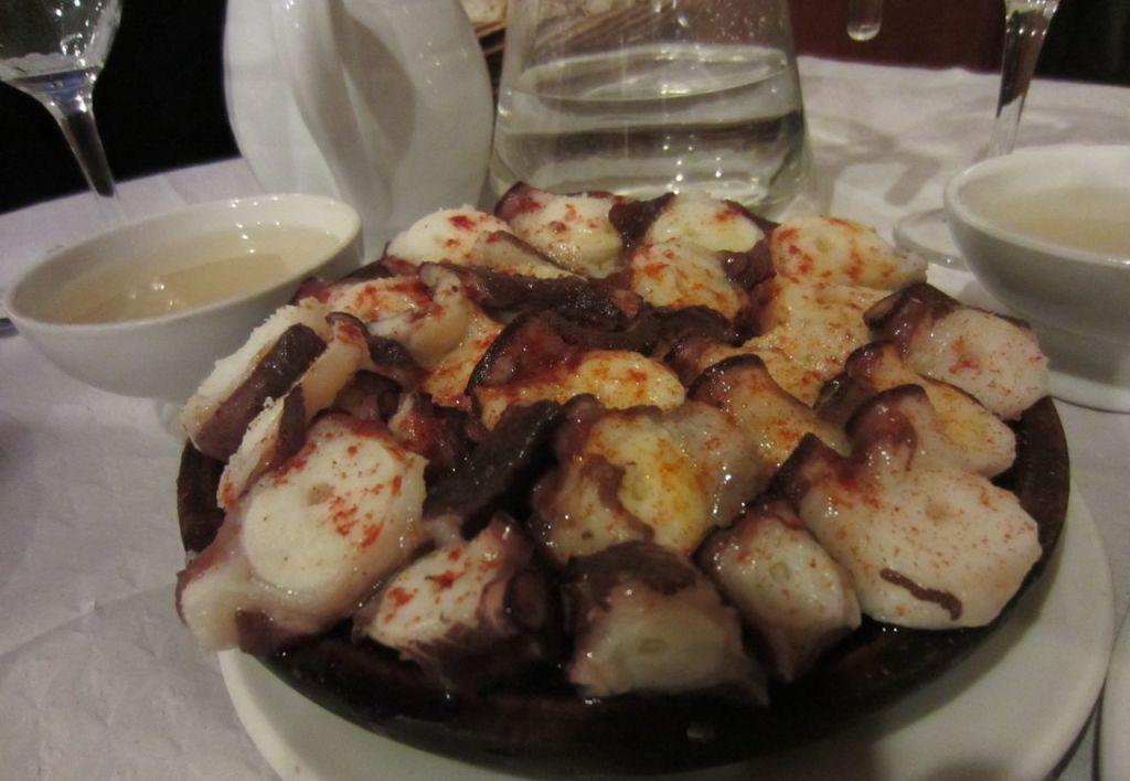 pulpo a la gallega spanish cuisine