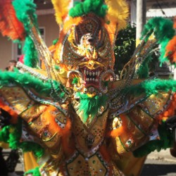Costumes at Carnaval in La Vega
