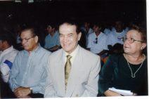 Divaldo Pereira Franco na cerimônia de entrega do título de Cidadão Paulistano.