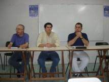 Simpósio sobre Espiritismo no rádio, em Caruaru, PE, em 2006.