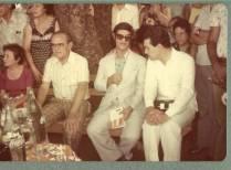 Chico Xavier e Divaldo Pereira Franco em 1978