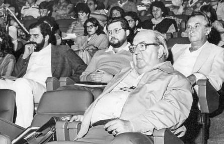 IX Congresso Brasileiro de Jornalistas e Escritores Espíritas, São Paulo, 1986. Sessão de abertura, Centro de Convenções Rebouças. Plateia.