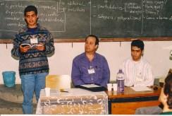 I Simpósio de Comunicação Social Espírita em São Paulo, ano 1994.