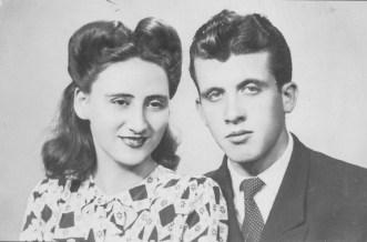 Hélio Rossi e esposa. Helio foi brilhante jornalista e defensor das ideias espíritas.