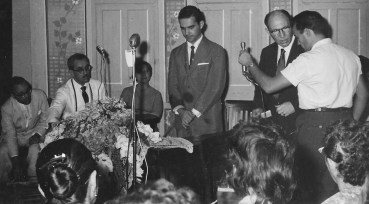 Divaldo Franco, em 03/01/1961, na União Espírita de Piracicaba.