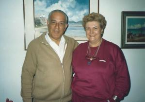 Jorge Rizzini e Janete Duncan.