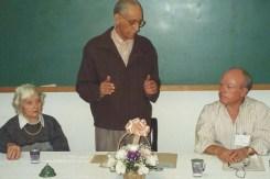 Anita Brisa e Ary Lex falam na USE Regional Capital (São Paulo) como os únicos signatários da fundação da USE, então ainda encarnados.