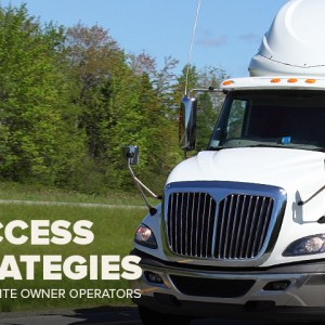 Seven Success Strategies for Expedite Owner-Operators