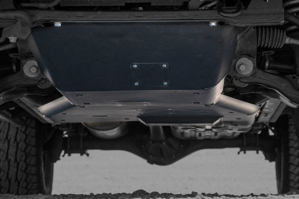 3rd gen toyota tacoma front ultra hd skid plates complete system