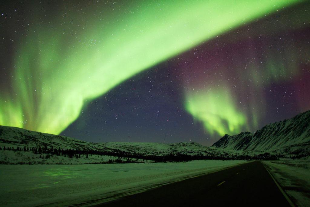 Northern Lights Barrow Alaska