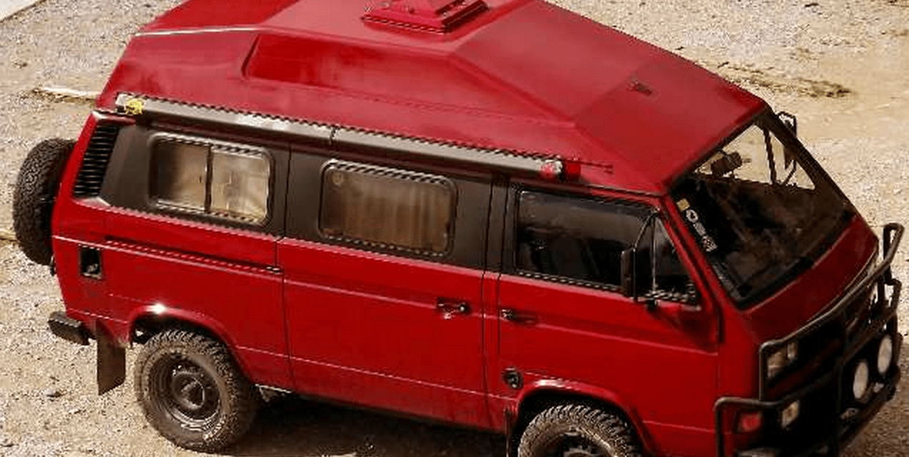 SOLD – VW T3 Syncro 1.9TDI High-top – Spain