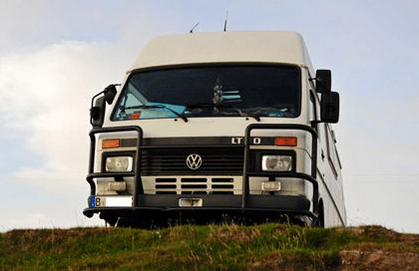 SOLD – VW LT 4×4 – Panel Van Camper – Germany