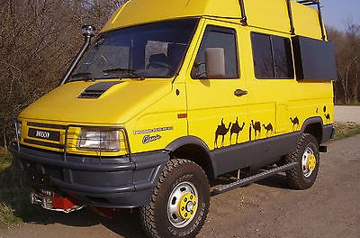 SOLD – Iveco Daily 40-10 4×4 – Beautifully Restored. – Germany