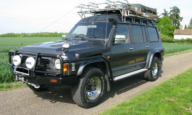 SOLD – Nissan Safari 4.2 Turbo Diesel (Patrol GR SLX) – 1994 Y60 Overland/Expedition Prepared Vehicle – UK