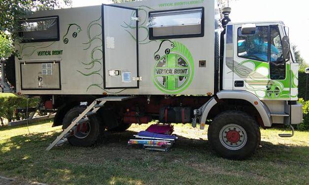 SOLD – Iveco – Eurocargo 135E18 4X4 Truck Camper – Italy – €70,000