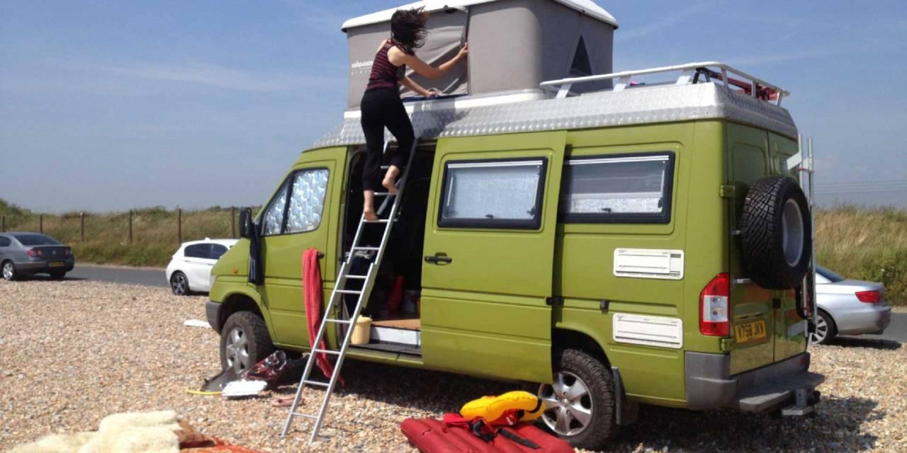 SOLD Mercedes 312 4×4 Camper Overland – UK – £22000