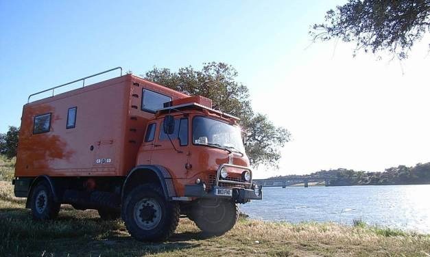 Bedford MJ 1984 Ex-Military Go Anywhere Expedition Vehicle – £45,000 – U.K.