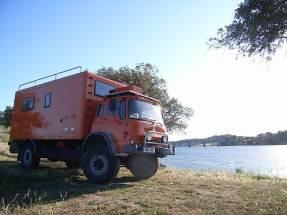 Bob Big Orange Bedford Truck for Sale